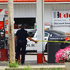 Kokomo police investigating a armed robbery with shots fired at Buddy's Mart and Apperson Way and Taylor Street about 3:30 on Aug. 6, 2018.<br /> Tim Bath | Kokomo Tribune