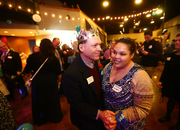 Night to Shine, a  prom night experience for people with special needs at Oakbrook Church on Friday, February 9, 2018.<br /> Kelly Lafferty Gerber   Kokomo Tribune
