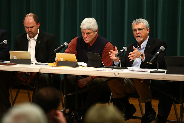 District 30 representative Mike Karickhoff speaks at the Third House legislative forum on Friday, February 23, 2018.<br /> Kelly Lafferty Gerber | Kokomo Tribune