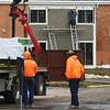Park Place construction on February 16, 2018.<br /> Kelly Lafferty Gerber | Kokomo Tribune