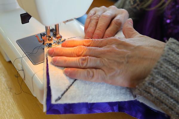Sewing at KUO