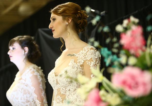 Heartland Bridal Show on Saturday, February 17, 2018.<br /> Kelly Lafferty Gerber | Kokomo Tribune