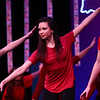 Aaryan Morrison, Distinguished Young Woman of Howard County, performs in the group's opening dance number during Distinguished Young Women of Indiana on Thursday, February 15, 2018.<br /> Kelly Lafferty Gerber | Kokomo Tribune