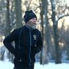 David Bruce of the Kokomo Roadrunners runs through Highland Park on a cold afternoon on Wednesday, January 17, 2018.<br /> Kelly Lafferty Gerber | Kokomo Tribune