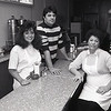 Toula Volikas-Linville, Dino Volikas, and their mom Sophia Volikas in a 1989 photo.<br /> KT file photo