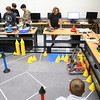 Comet Tech, Eastern's robotics team, watches to see if their robot fulfills its tasks during practice on January 10, 2018.<br /> Kelly Lafferty Gerber | Kokomo Tribune