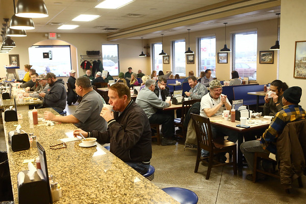 Louie's Coney Island quickly fills up during lunch on January 23, 2018. The restaurant has been a staple in Kokomo since 1937.<br /> Kelly Lafferty Gerber | Kokomo Tribune