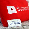 Payton Irwin made stickers as part of his YouTube merchandise.<br /> Kelly Lafferty Gerber | Kokomo Tribune
