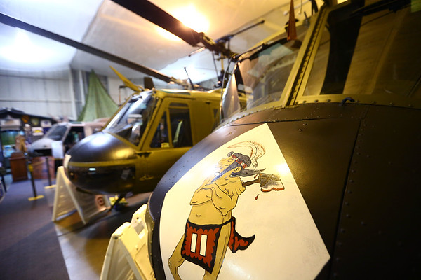The American Huey Museum in Bunker Hill at 1695 W. Hoosier Blvd. in the Grissom Aeroplex on June 19, 2018.<br /> Kelly Lafferty Gerber | Kokomo Tribune