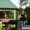 Averie Stone performs during RhumFest in Foster Park on Saturday, July 28, 2018.<br /> Kelly Lafferty Gerber | Kokomo Tribune