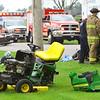 Motorcycle vs lawn tractor