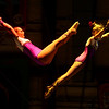 Youth circus performers perform the flying trapeze during the Peru Amateur Circus on Saturday, July 14, 2018. Circus performances run all week.<br /> Kelly Lafferty Gerber | Kokomo Tribune