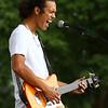 Mitchell White performs at RhumFest in Foster Park on Saturday, July 28, 2018.<br /> Kelly Lafferty Gerber | Kokomo Tribune