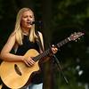 Courtney Pitzer performs at RhumFest in Foster Park on Saturday, July 28, 2018.<br /> Kelly Lafferty Gerber | Kokomo Tribune