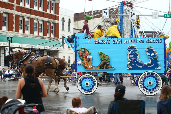 59th annual Circus City Parade in Peru on Saturday, July 21, 2018.<br /> Kelly Lafferty Gerber | Kokomo Tribune