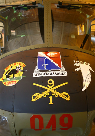 John Walker has worked to restore several Huey helicopters that were flown in the Vietnam War back to flying condition, like the gunner helicopter. The American Huey Museum in Bunker Hill is located at 1695 W. Hoosier Blvd. in the Grissom Aeroplex. Kelly Lafferty Gerber | Kokomo Tribune