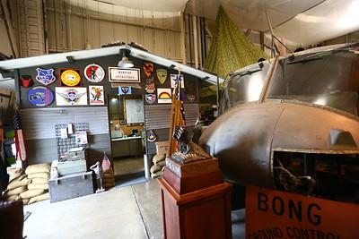 The American Huey Museum in Bunker Hill at 1695 W. Hoosier Blvd. in the Grissom Aeroplex on June 19, 2018. Kelly Lafferty Gerber | Kokomo Tribune