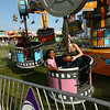 Kids enjoy the midway during the Howard County Fair on Thursday, July 12, 2018.<br /> Kelly Lafferty Gerber | Kokomo Tribune
