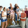 From left four generations of family: Jeff and Maggie Mastin and their three kids, Richard Crosby, Reis, and Raena Mastin. Maggie's parents Neal and Michele Reishus. Neal's parents Beverly and John Reishus. And Neal and Michele's son Zack Reishus.<br /> Kelly Lafferty Gerber | Kokomo Tribune