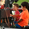 Emerson and Levi Rhum and Hudson Dupee perform at RhumFest on Saturday, July 28, 2018.<br /> Kelly Lafferty Gerber | Kokomo Tribune