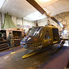 The gunner Huey helicopter is one of several on display at the American Huey Museum  in the Grissom Aeroplex on June 19, 2018.<br /> Kelly Lafferty Gerber | Kokomo Tribune