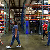People take a tour of the new space after AndyMark officially opened its new location on 1900 East North Street on Wednesday, July 11, 2018.<br /> Kelly Lafferty Gerber | Kokomo Tribune
