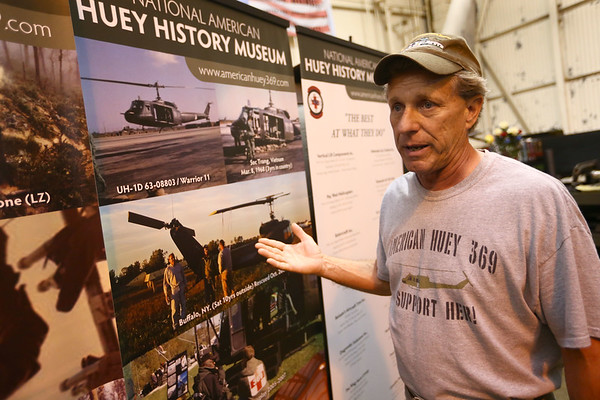 The American Huey Museum in Bunker Hill at 1695 W. Hoosier Blvd. in the Grissom Aeroplex on June 19, 2018.<br /> Kelly Lafferty Gerber | Kokomo Tribune