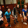 """In unison, kids in the Ole Olsen Children's Theatre yell """"Babe Ruth"""" as they rehearse """"The Sandlot"""" in Peru on Tuesday, July 3, 2018.<br /> Kelly Lafferty Gerber 