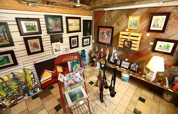 Avon Waters' art gallery in Amboy on June 7.<br /> Kelly Lafferty Gerber | Kokomo Tribune
