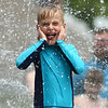 Water spray at Highland Park on Wednesday, June 27, 2018.<br /> Kelly Lafferty Gerber | Kokomo Tribune