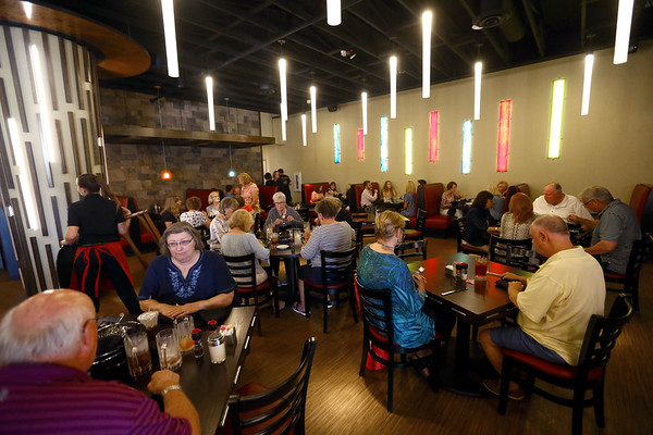 PASTArrific on Tuesday, June 12, 2018. The Italian restaurant reopened after a devastating fire over a year ago.<br /> Kelly Lafferty Gerber   Kokomo Tribune