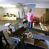 Matt Barlow talks about expanding his Barlow's business and is in the process of renovating this area on June 28, 2018.<br /> Kelly Lafferty Gerber | Kokomo Tribune