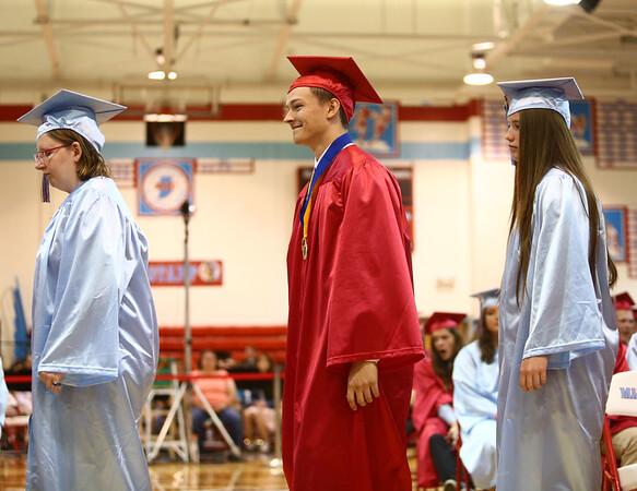 Maconaquah High School graduation on Saturday, June 2, 2018.<br /> Kelly Lafferty Gerber   Kokomo Tribune