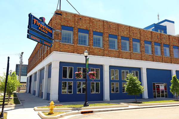 The Firestone Building at the corner of Mulberry and Union Streets on June 4, 2018.<br /> Tim Bath | Kokomo Tribune