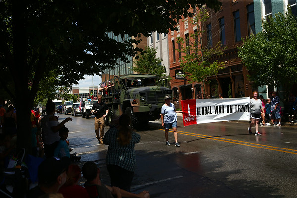 Haynes Apperson parade on Saturday, June 30, 2018.<br /> Kelly Lafferty Gerber   Kokomo Tribune