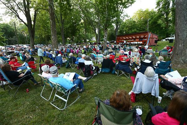 Kokomo Park Band season opener at Highland Park on Wednesday, June 6, 2018.<br /> Kelly Lafferty Gerber   Kokomo Tribune