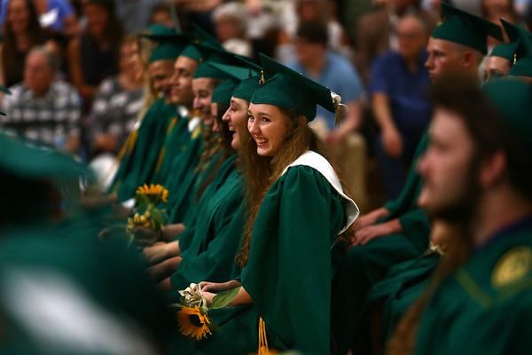 Eastern High School graduation on Sunday, June 3, 2018.<br /> Kelly Lafferty Gerber   Kokomo Tribune