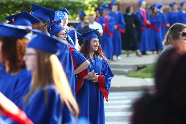 Kokomo High School 2018 graduation on Friday, June 1, 2018.<br /> Kelly Lafferty Gerber   Kokomo Tribune