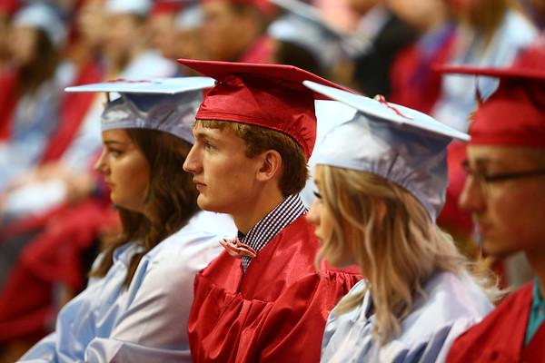 Maconaquah High School graduation on Saturday, June 2, 2018.<br /> Kelly Lafferty Gerber | Kokomo Tribune