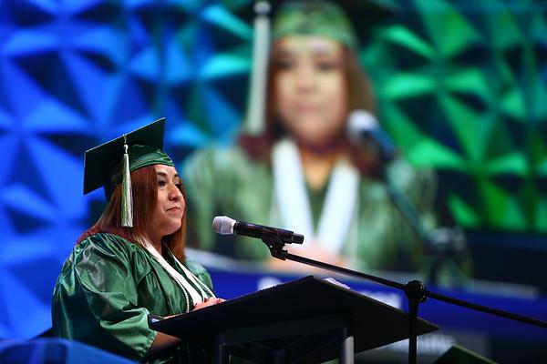 Excel Center graduation on Thursday, June 14, 2018.<br /> Kelly Lafferty Gerber   Kokomo Tribune