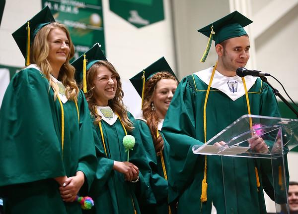 Eastern High School graduation on Sunday, June 3, 2018.<br /> Kelly Lafferty Gerber | Kokomo Tribune