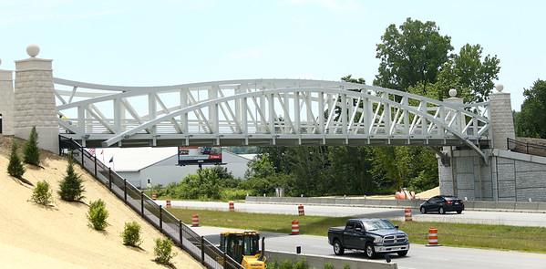The Nickel Plate trail bridge was officially opened on Friday, June 29, 2018.<br /> Kelly Lafferty Gerber   Kokomo Tribune