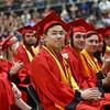 Taylor High School graduation on Friday, June 8, 2018.<br /> Kelly Lafferty Gerber | Kokomo Tribune