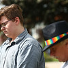 """""""Disarm Hate Vigil"""" at the Howard County Courthouse on Tuesday, June 12, 2018, meant to honor the victims of two specific mass shootings, one in Orlando, the other in South Carolina. <br /> Kelly Lafferty Gerber 