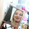 Heartland models get their makeup and hair done at Posh Salon on Friday, March 16, 2018.<br /> Kelly Lafferty Gerber | Kokomo Tribune