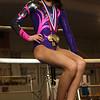 3-21-18<br /> Bella Farnham on the bars at Kokomo Flipsters.<br /> Kelly Lafferty Gerber | Kokomo Tribune