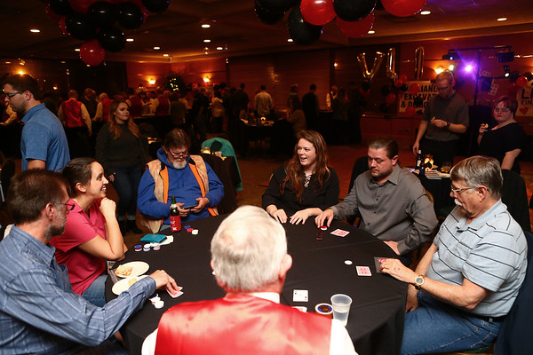 Bona Vista fundraiser, Viva Las Vista, on Friday night, March 9, 2018.<br /> Kelly Lafferty Gerber | Kokomo Tribune