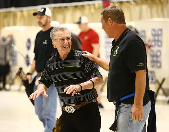53rd annual Indiana Field Archery Association Indoor Tournament at the Kokomo Event Center on Saturday, March 3, 2018.<br /> Kelly Lafferty Gerber   Kokomo Tribune