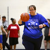 Howard County Special Olympics girls basketball team practices on Tuesday, March 6, 2018, for their upcoming state finals game.<br /> Kelly Lafferty Gerber | Kokomo Tribune