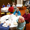 Pizza and Politics at First Friends Meeting on Thursday, March 15, 2018.<br /> Kelly Lafferty Gerber | Kokomo Tribune